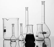 Chemical equipment. For samples analyses Royalty Free Stock Photo