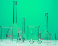 Chemical equipment. For samples analyses Royalty Free Stock Images