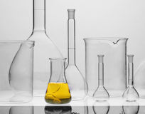 Chemical equipment. For samples analyses Stock Image
