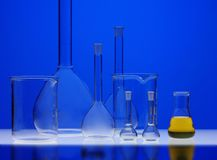 Chemical equipment royalty free stock images