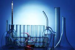 Chemical equipment Royalty Free Stock Photos