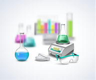 Chemical equipment Composition stock illustration