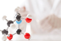 Chemical experiment Stock Photo