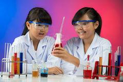 Chemical experiment Stock Photography