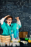 Chemical experiments in the lab Royalty Free Stock Photos