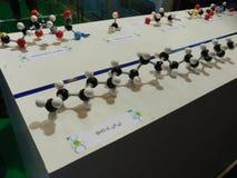 chemical för molekylar vektorwallpaper sömlöst Royaltyfria Bilder