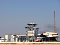 chemical fabrik Royaltyfri Fotografi
