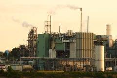 chemical fabrik Arkivfoton