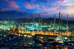 chemical fabriksolja Arkivbilder