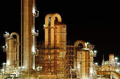 chemical facility production Στοκ εικόνα με δικαίωμα ελεύθερης χρήσης