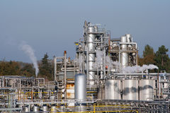 Chemical factory Royalty Free Stock Image