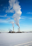 Chemical Factory. Royalty Free Stock Photo