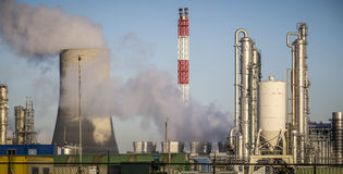 Free Chemical Factory Stock Photography - 49755782