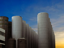 Chemical factory Royalty Free Stock Photo
