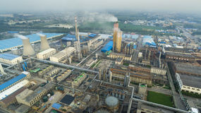 Chemical factory china Royalty Free Stock Photos
