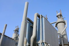 Chemical factory and oil depot, Stock Photography