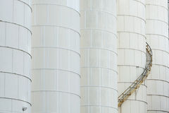 Chemical Factory Royalty Free Stock Photography