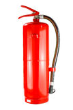 Chemical fire extinguisher isolated, with clipping path Royalty Free Stock Photo
