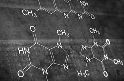 Chemical formula Stock Images