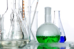 Chemical glass Stock Photo