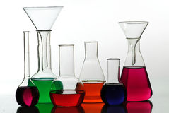 Chemical glass Royalty Free Stock Photography