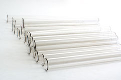 Chemical glass  tubes Stock Image