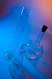 Chemical glassware Royalty Free Stock Photo