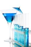 Chemical glassware Stock Photos