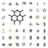 Chemical icon. Eco and Alternative Energy vector icon set. Energy source electricity power resource set vector. Chemical icon. Eco and Alternative Energy vector Stock Photo