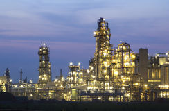 chemical industri Royaltyfria Bilder