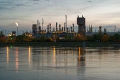chemical industri Royaltyfria Bilder