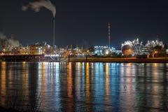 chemical industri Royaltyfria Foton