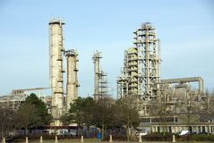 Chemical industry Royalty Free Stock Photos