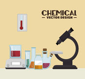 Chemical industry design Stock Photos