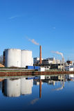 Chemical industry plant Royalty Free Stock Images