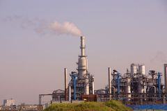 Chemical industry plant Royalty Free Stock Image