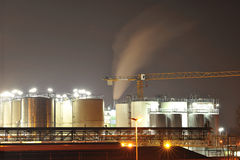 Chemical industry tanks Stock Photos