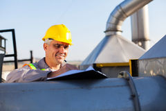 Chemical industry technician Stock Photos