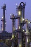 chemical installation Arkivbild