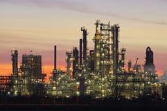 Chemical Installation. High Dynamic Range impression of a chemical installation in the Port of Rotterdam Stock Photos
