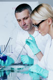 Chemical lab Royalty Free Stock Photo