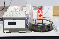 Chemical lab equipment Stock Images