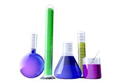 Chemical lab Stock Image