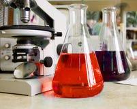 chemical laboratorium royaltyfri fotografi