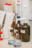 chemical laboratorium royaltyfri bild