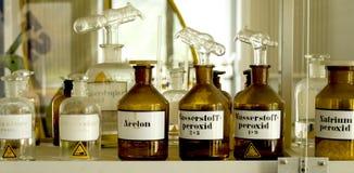 chemical laboratorium Arkivbilder