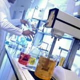 Chemical laboratory Stock Image