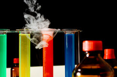 Chemical laboratory royalty free stock photography