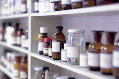 Chemical laboratory royalty free stock photo