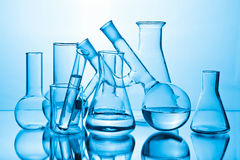 Chemical laboratory equipment Stock Photo